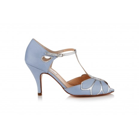 Mimosa Powder Blue Leather