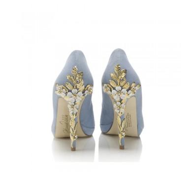 Amy Blue Blossom - od ręki