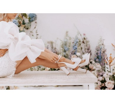 PRE ORDER Joni Pearl Tulle Bow